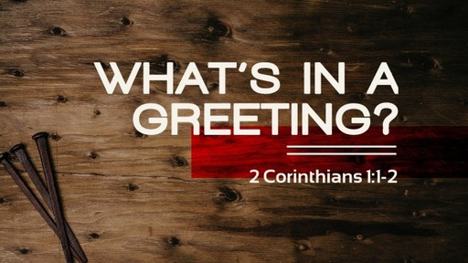 What's in a Greeting?