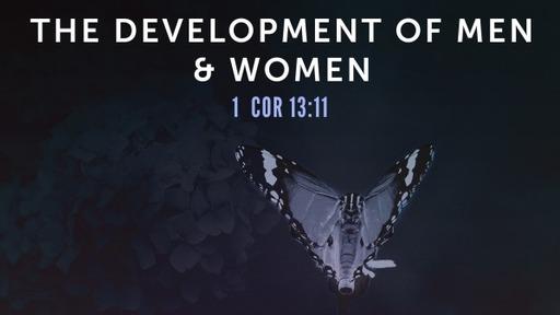 The Development Of Men & Women