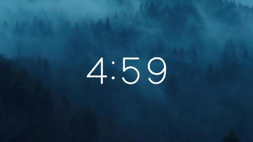 Foggy Woods - Countdown 5 min