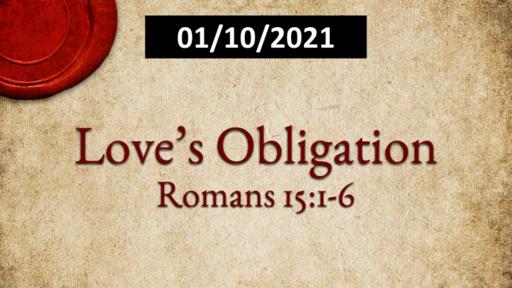 Love's Obligation