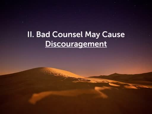 The Dangers of Bad Counsel Part 2