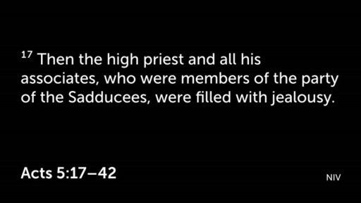 Acts 5:17-42