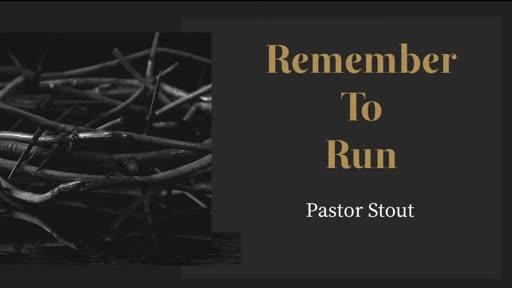 Remembering When To Run - Matthew 27:45-57