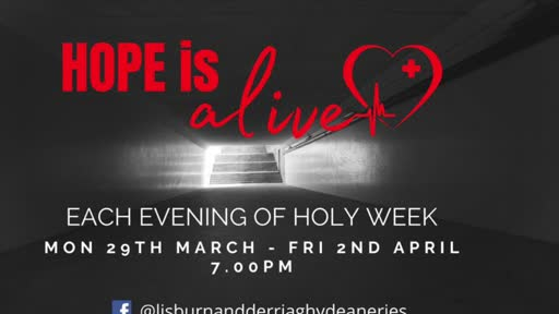 Holy Week Service - Tuesday