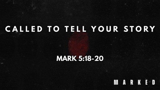 You're Called To Tell Your Story
