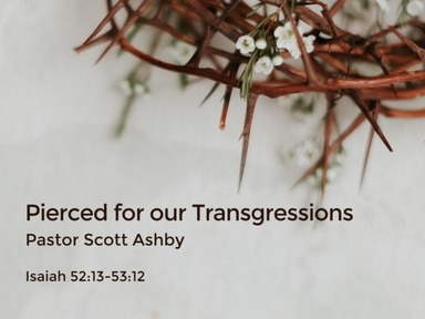 Isaiah 52 - 53