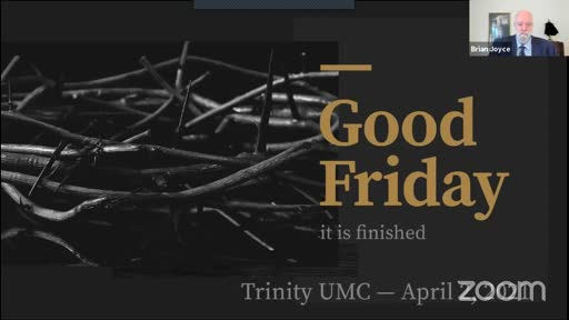 Good Friday—April 2, 2021
