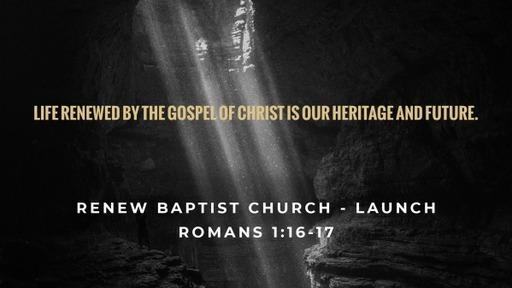 Renew Baptist Church - Launch Series