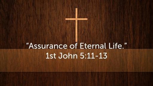 1st John 5:11-13