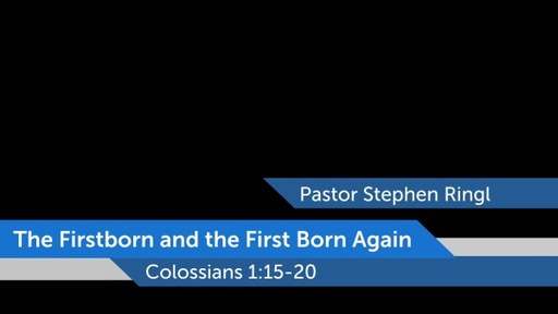 The Firstborn and the First Born Again
