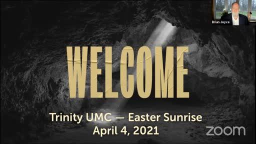 Easter Sunrise—April 4, 2021