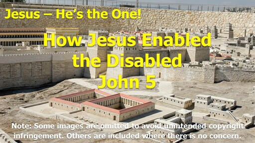 How Jesus Enabled the Disabled