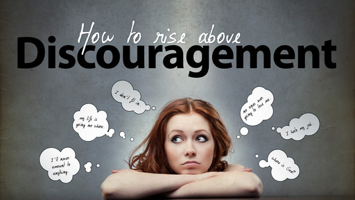 Rise Above Discouragement--The Story of Joshua
