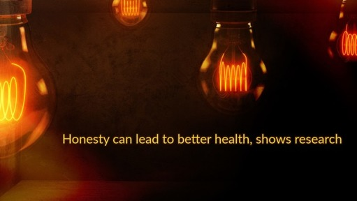 Honesty can lead to better health, shows research