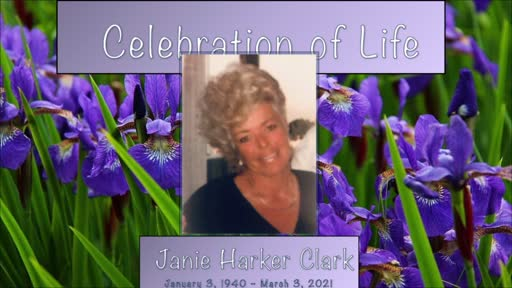 Memorial for Janie Clark