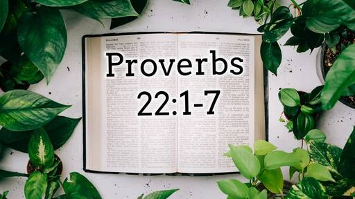 Walking with Wisdom- Proverbs