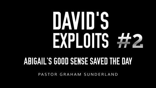 David's Exploits #2