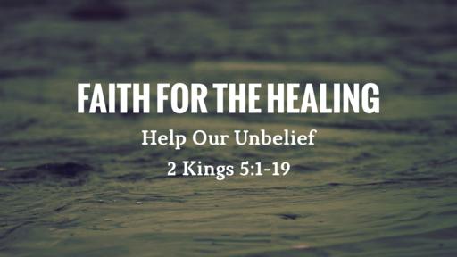 Faith for the Healing