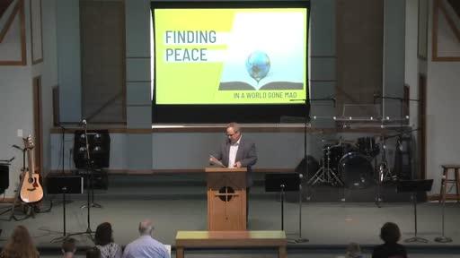 Sunday Service: Pursuing Peace