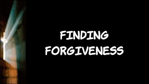 How Do I Forgive Myself