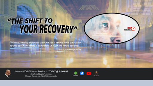 """The Shift to Your Recovery"" by Mercury Thomas-Ha, PhD  
