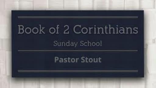 Sunday School - 2 Corinthians 5:14
