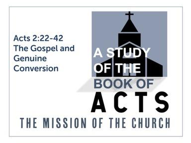 The Gospel and Genuine Conversion