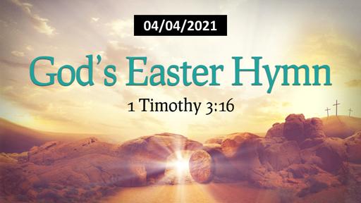 God's Easter Hymn