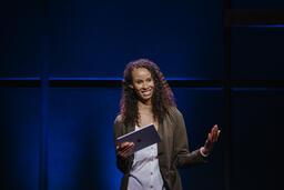 Female Pastor on Stage  image 8