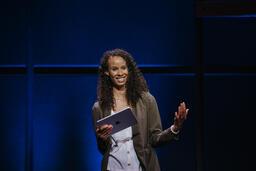 Female Pastor on Stage  image 4