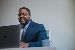 Man Working on Laptop  image 5