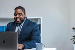Man Working on Laptop  image 6