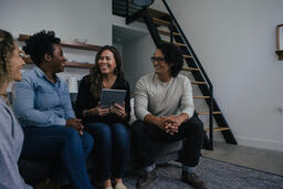 Small Group of People Laughing  image 4
