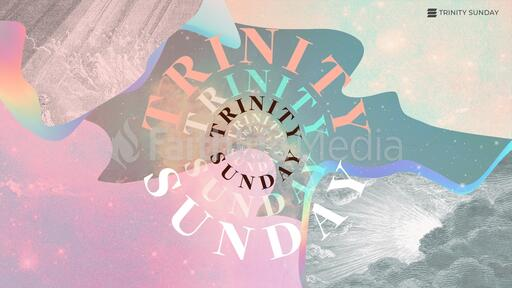 Trinity Sunday Galaxy