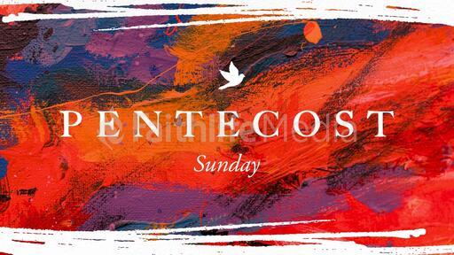 Pentecost Sunday Abstract