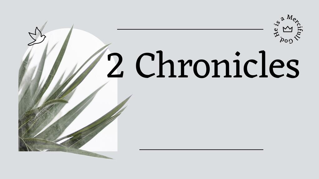 2 Chronicles Olive large preview