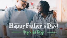 Hug a Dad Today  PowerPoint image 1
