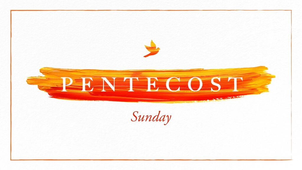Pentecost Sunday Paint Stroke large preview