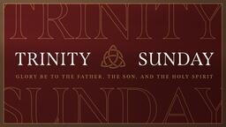Trinity Sunday Celtic  PowerPoint image 1