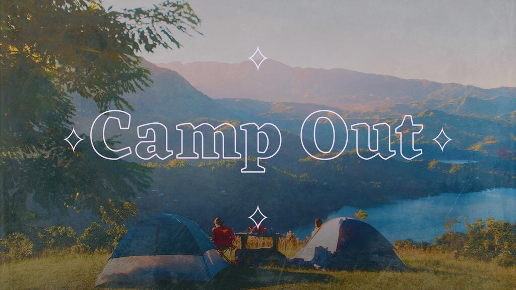 Church Camp Out large preview