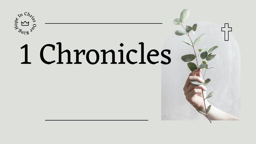 1 Chronicles Olive large preview