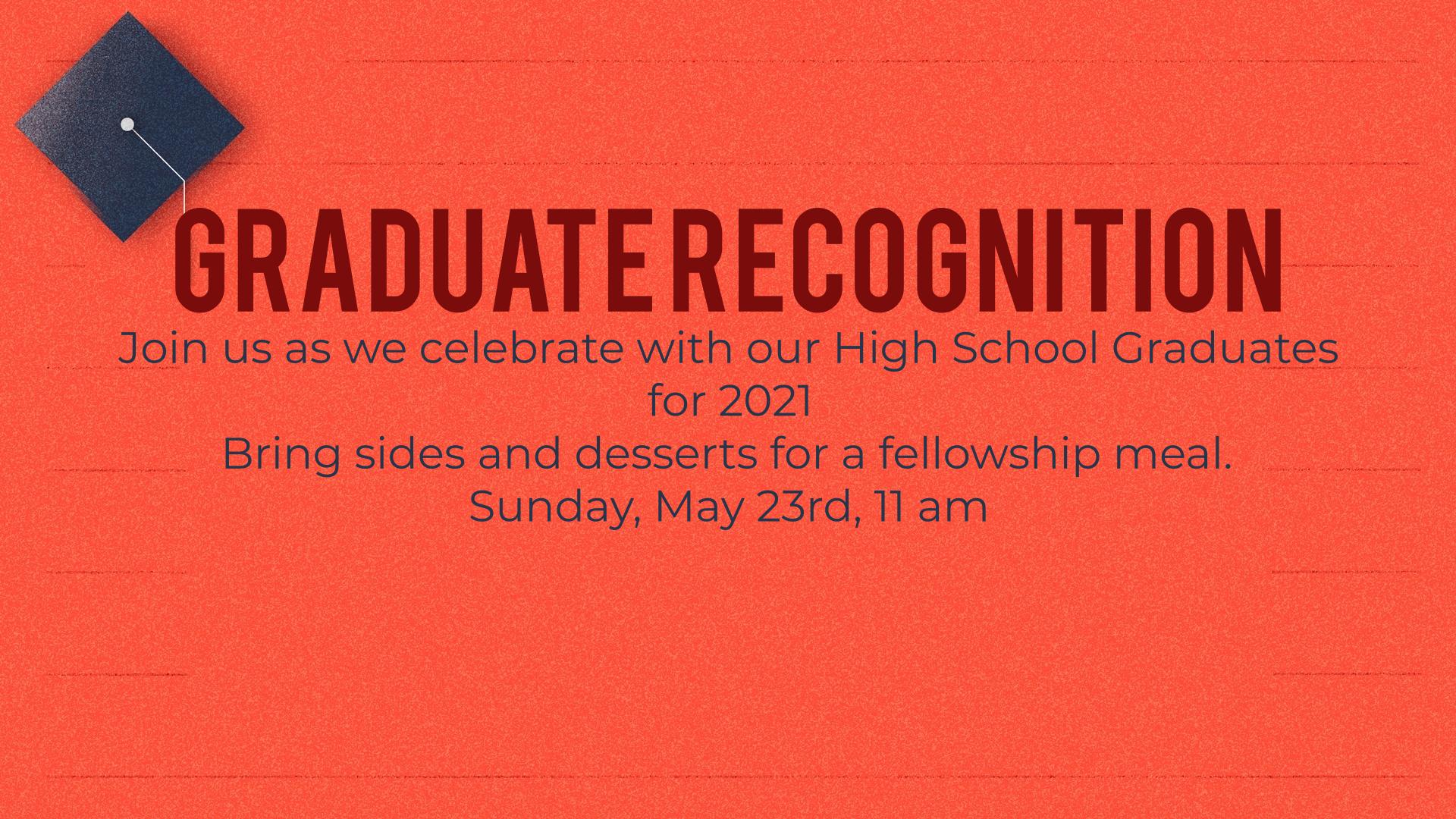 Graduate Recognition