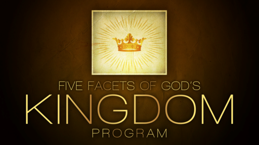 2021-03-21 PM (TM) - Life of Christ #83 - Five Facets of God's Kingdom Program