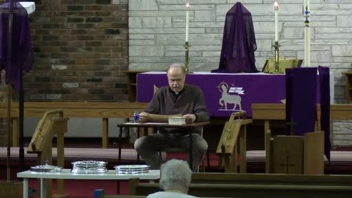 03 03 21 Lenten Bible Study
