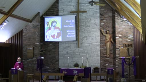 03 28 21 Palm Sunday Part 1: The Mission of God