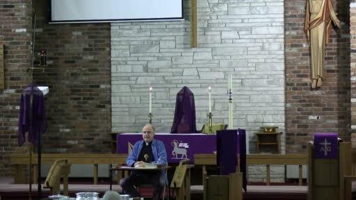 03 10 21 Lenten Bible Study