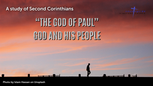 The God Of Paul - God And His People