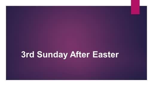Sunday 18th April 2021