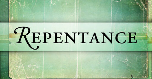 The Anatomy of Repentance