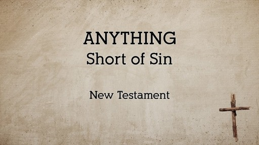 Anything: Sin in the New Testament